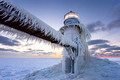 Frosty Lighthouse