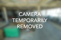 CAMERA TEMPORARILY REMOVED